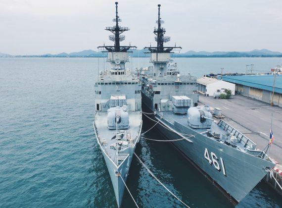 warship-in-thailand